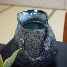 後藤さんが製作した陶器『冬の女(ひと)』