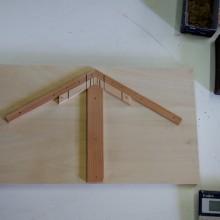 Rの組子を作る際に用いる自作の道具