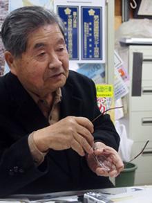 「造園工・樹木医・ツツジ研究家」の顔を持つ熊倉さん