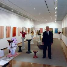 2012年に開催した個展『建築塗装美術の世界』