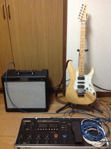 愛用のギター
