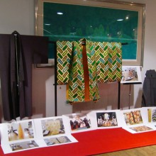 ベーカリーレンガで行われた連獅子作品発表会