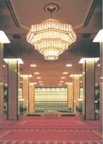 帝国ホテルのシャンデリア