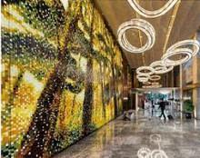 マンダリンホテル上海ロビー壁画