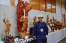 作品展に仏像を出展